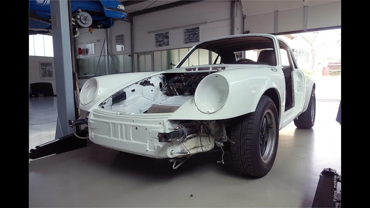 1976er Porsche 911 Carrera 3.0 von Berti Vogts