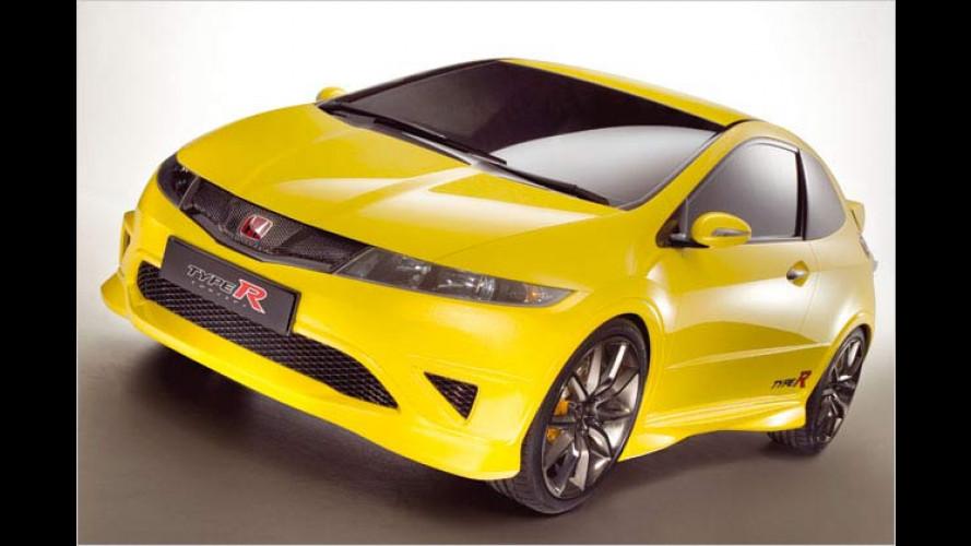 Heißer Typ: Honda präsentiert Studie vom Civic Type R