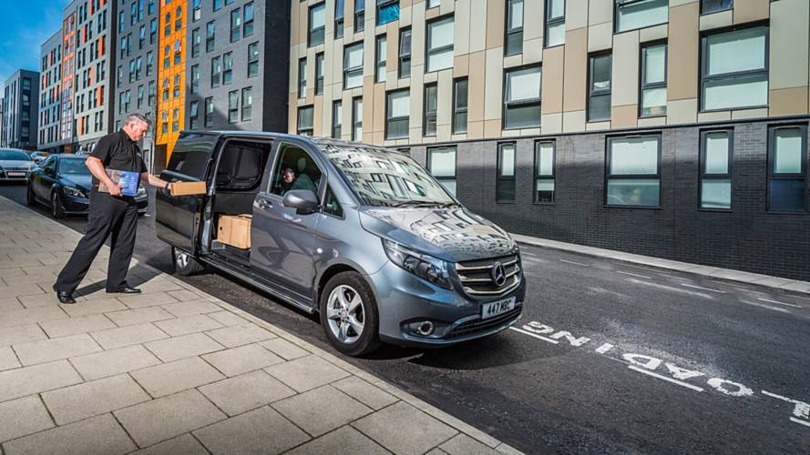 One in 10 van drivers admits to weeing on the move