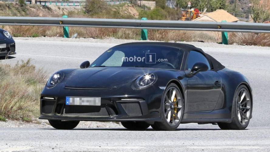 La future Porsche 911 Speedster se découvre petit à petit