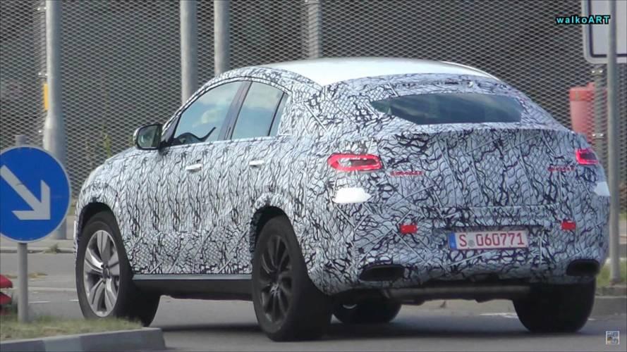 Le futur Mercedes-Benz GLE Coupé se balade
