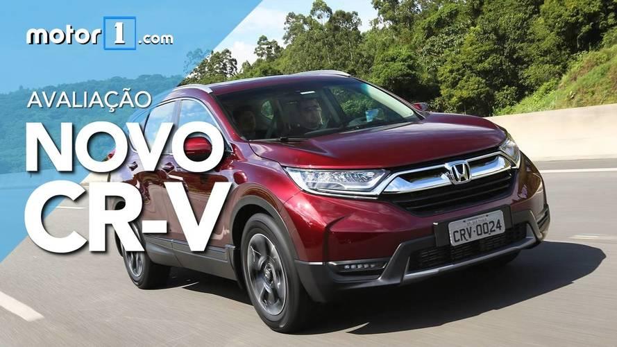 Vídeo Avaliação - Novo Honda CR-V Touring 2018 vale a pena?