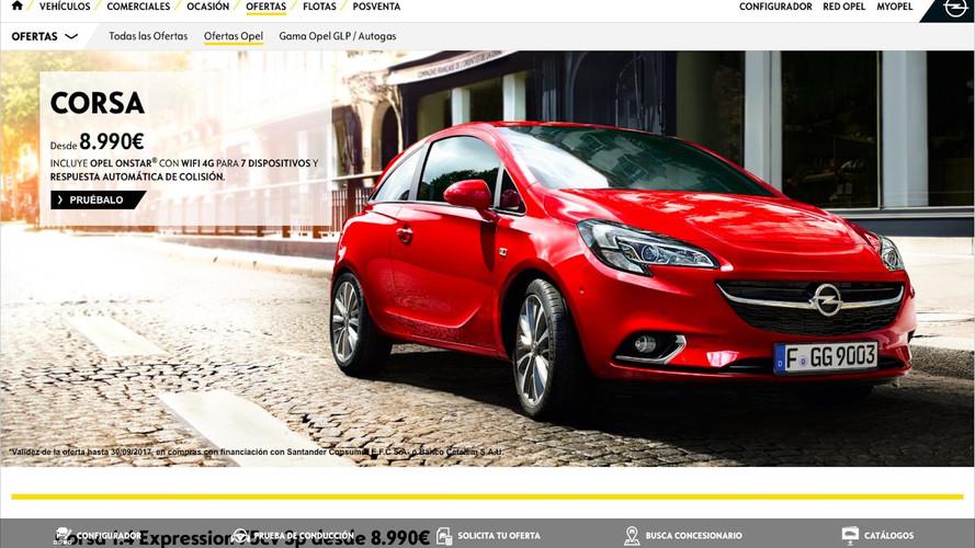 Ofertas: Opel Corsa 2018 con descuento