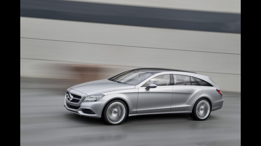Mercedes CLS Shooting Brake: in vendita dal 2012