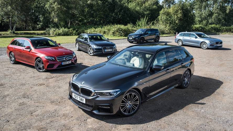 Estate car megatest – four of the best and an SUV wildcard