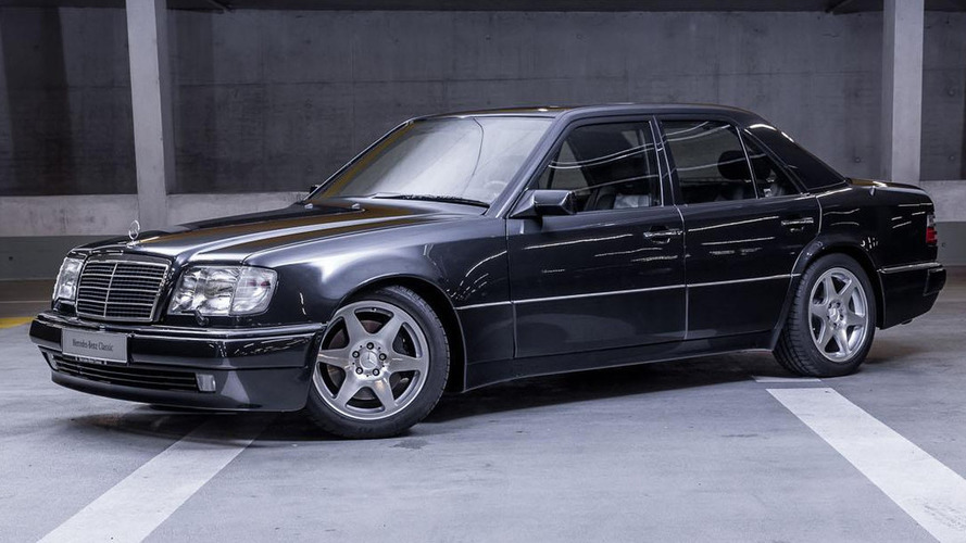 Rare Mercedes E 60 AMG Limited to be shown in Berlin
