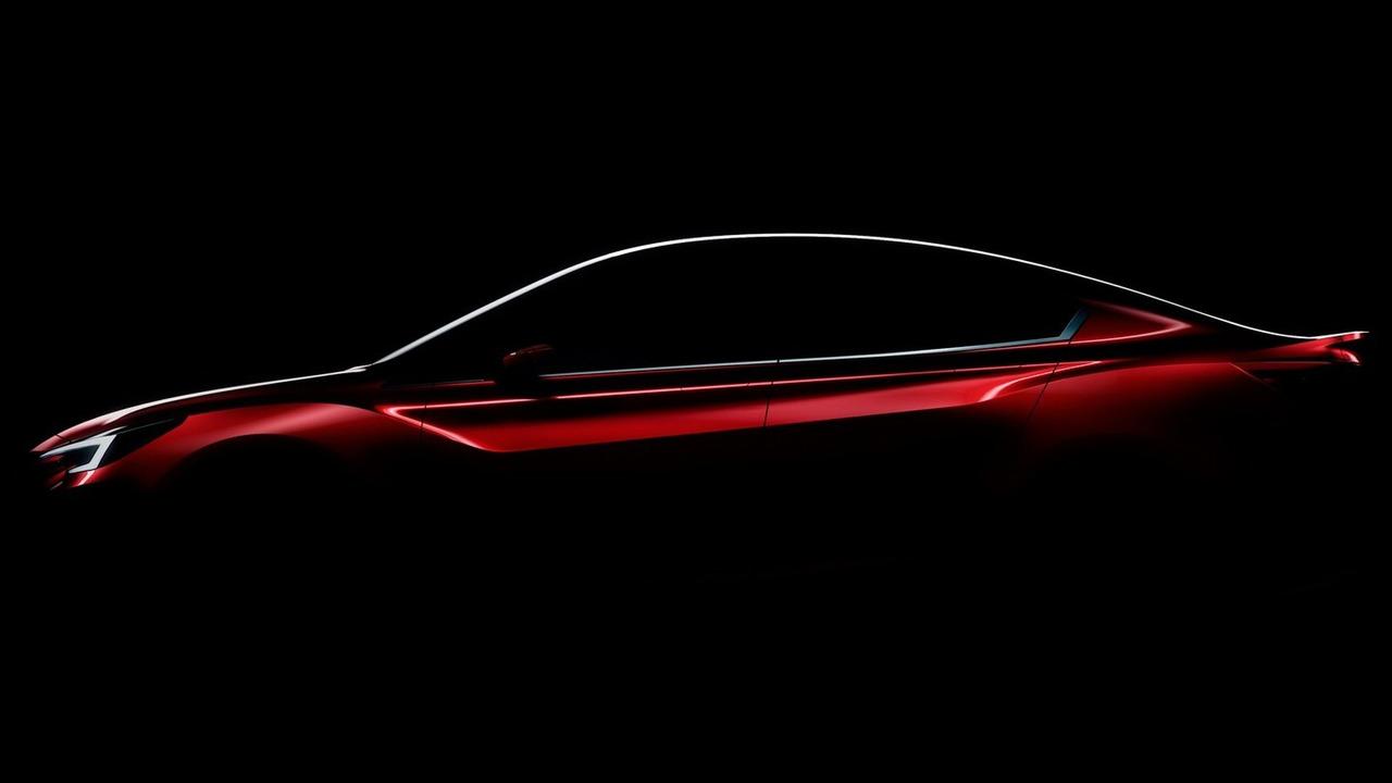 Subaru Impreza Sedan Concept teaser