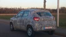 Renault Kwid spy photo