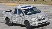 2017 Honda Ridgeline spy photo