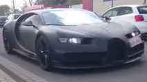 Bugatti Chiron spy video