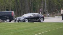 Bugatti 16C Galibier spotted outside factory