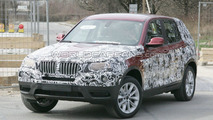 2011 BMW X3 Prototype spy photos, Munich, Germany 27.03.2010