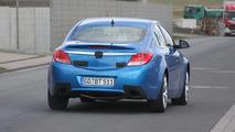 Opel Insignia OPC in blue spy photo