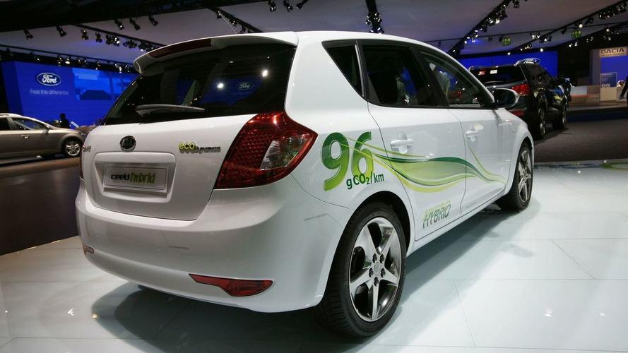 Kia Sorento Hybrid and Cee'd Facelift Hybrid Revealed in Frankfurt