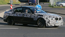 BMW M5 F10 spy photo