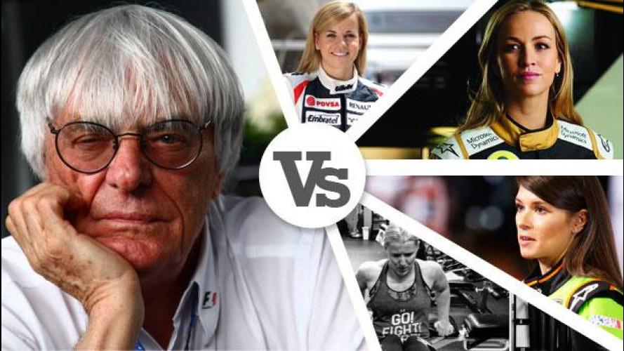 Caro Ecclestone, hai paura delle donne in F1?