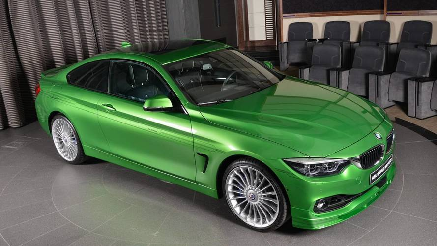 bmw alpina b4 s rallye green is exclusivity at its finest. Black Bedroom Furniture Sets. Home Design Ideas