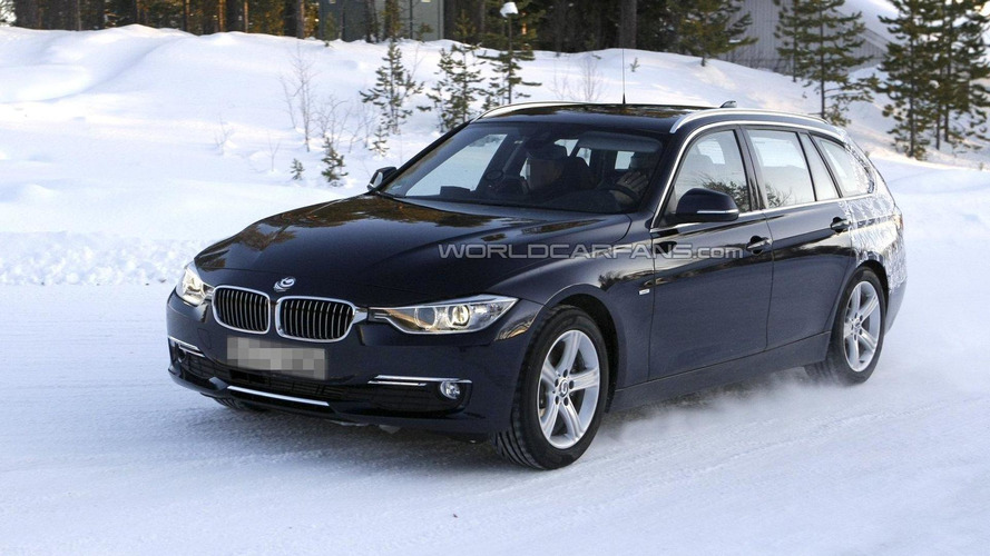 2013 BMW 3-Series Touring wagon latest rendering and spy pics
