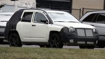 Jeep Compass Spy Photos