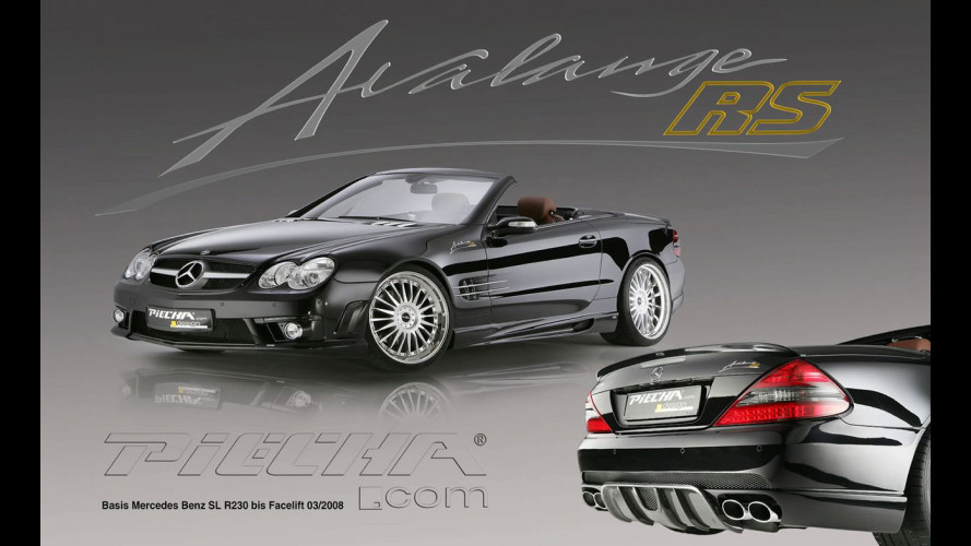 Mercedes SL R230 by Piecha Avalange RS