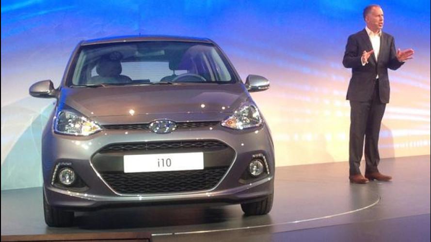 Salone di Francoforte: Hyundai i10 costerà meno di 10mila euro