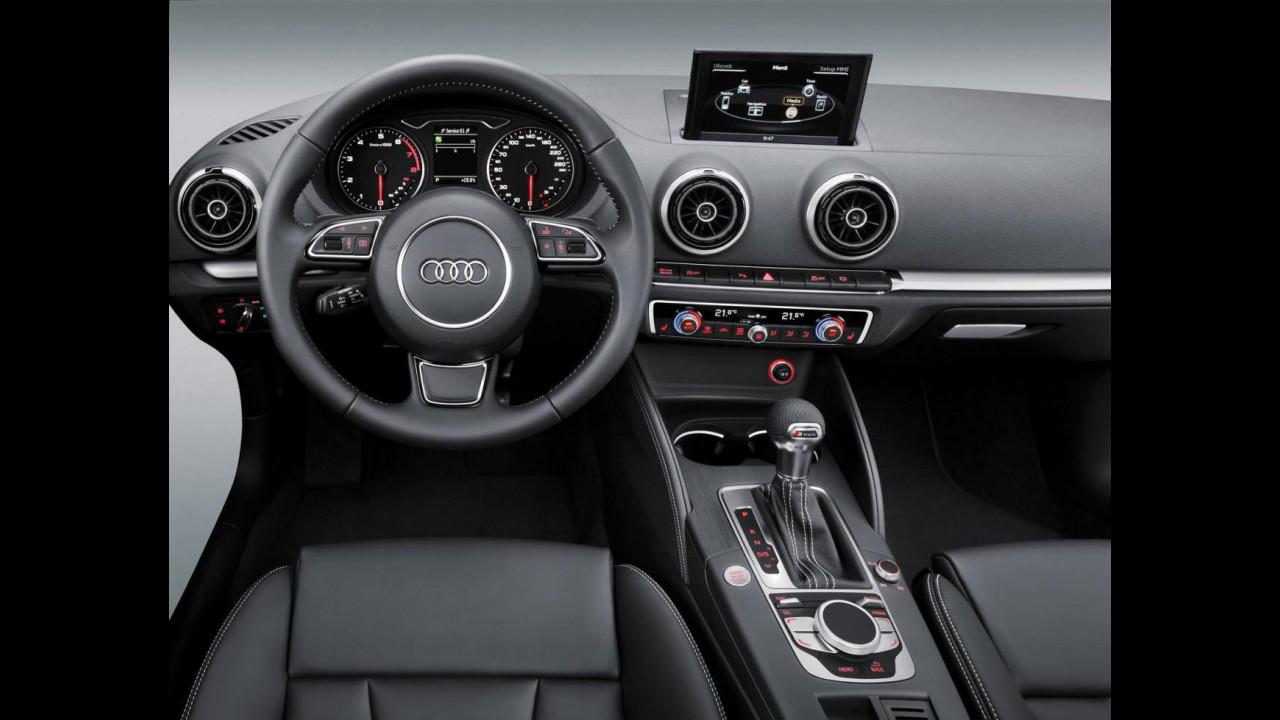 Nuova Audi A3, gli interni