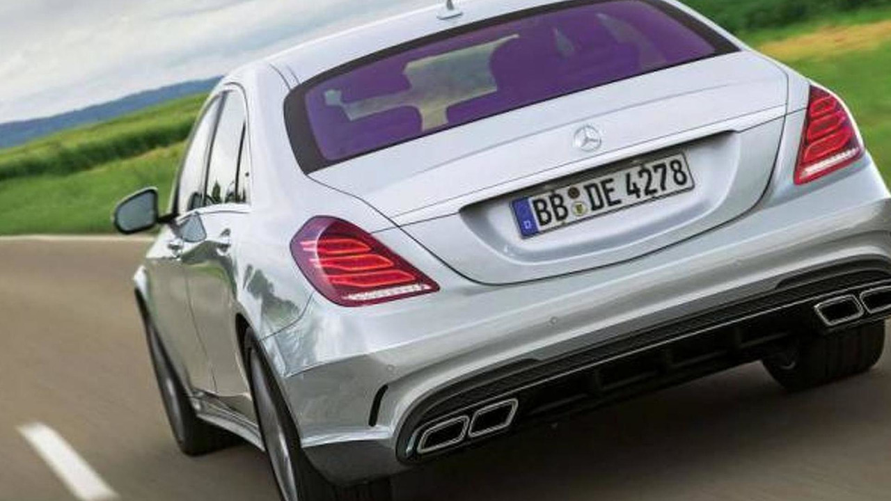 2014 Mercedes S63 AMG leaked photo 05.7.2013