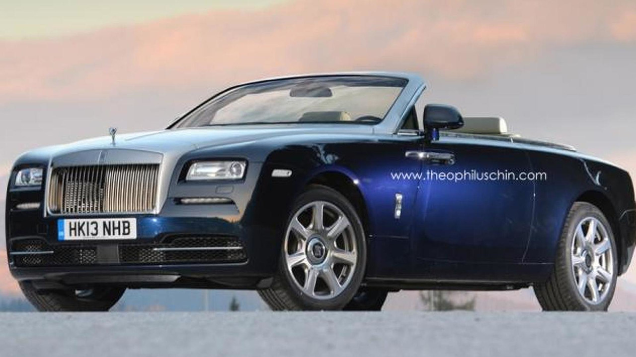 Rolls-Royce Wraith Drophead Coupe rendering 08.10.2013