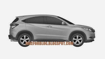 Honda Urban SUV production version patent photo 07.11.2013