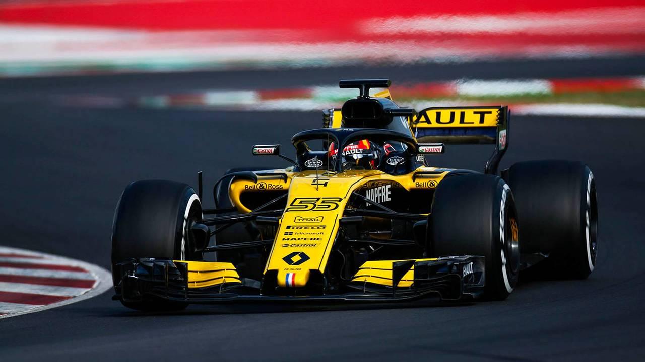 Test Barcelona 2018: Carlos Sainz y el Renault RS18
