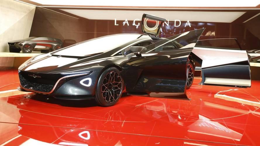 Három év múlva az utakon is megjelenhet az Aston Martin Lagonda Vision tanulmány