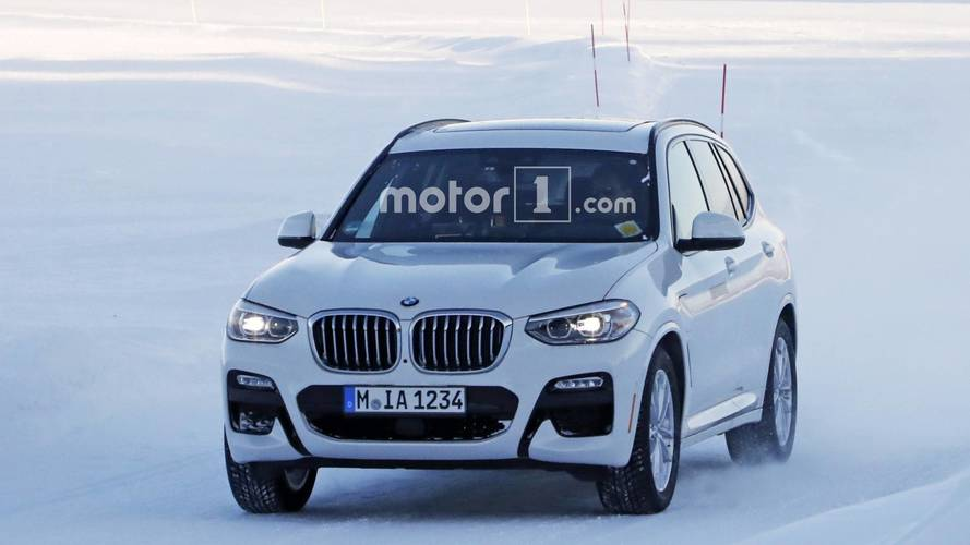2019 BMW X3 plug-in hibrit casus fotoğraflar