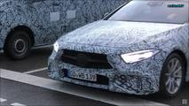 Mercedes-AMG CLS 53 and new Sprinter screenshot from spy video