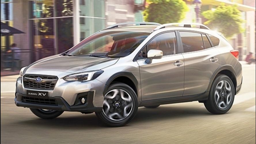 Nuova Subaru XV, il crossover con l'aria da berlina