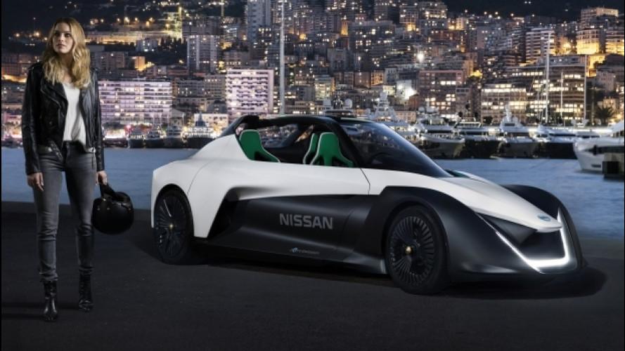 Margot Robbie è il nuovo volto delle Nissan elettriche