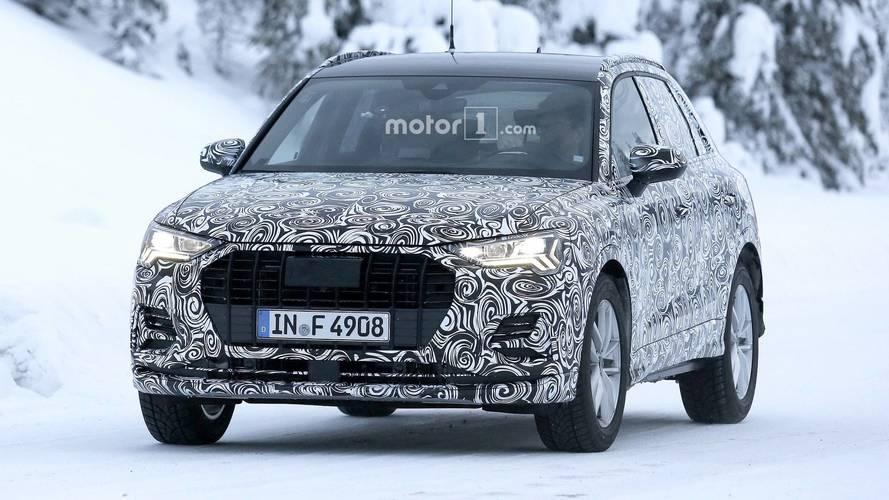 Photos espion - L'Audi Q3 finalise ses essais