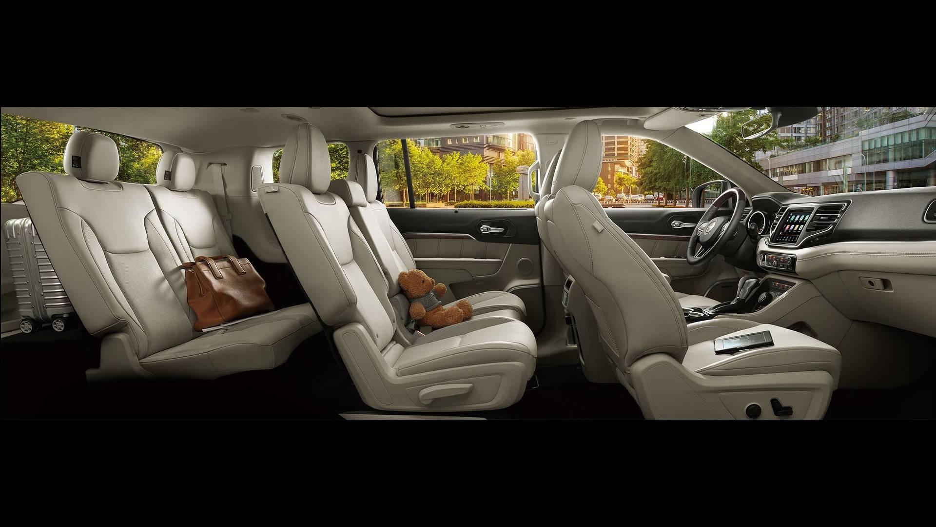 jeep grand commander revealed for china. Black Bedroom Furniture Sets. Home Design Ideas