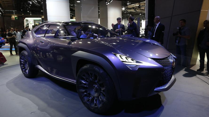 Lexus'un UX crossover'ı Cenevre'de tanıtılabilir