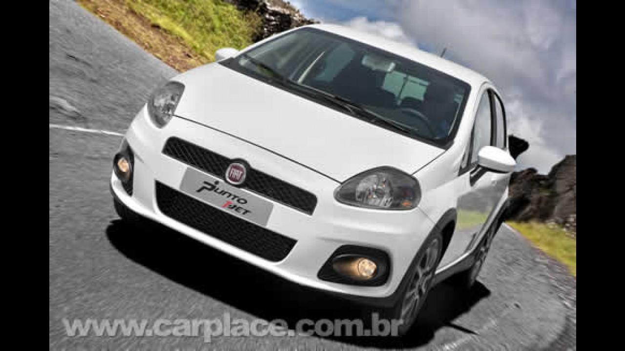 Fiat divulga imagem e confirma: Punto T-Jet será lançado no início de março