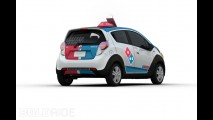 Chevrolet Spark Domino's Delivery Car