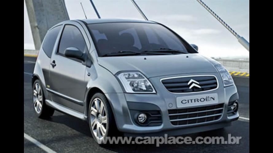 Citroën apresenta o novo C2 com pequenas mudanças visuais na Europa