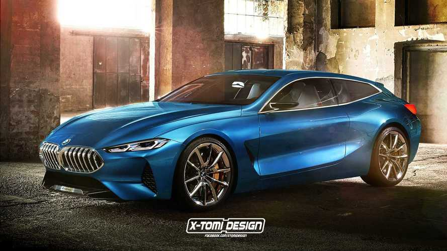 BMW Serie 8 Shooting Brake render