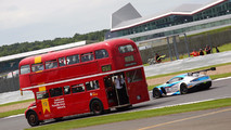 Double Decker Bus At Silverstone