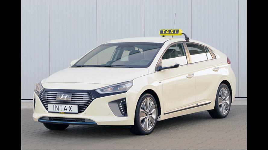 Hyundai Ioniq: Das Sauber-Taxi