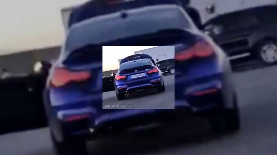 BMW M4 CS reklam çekiminde yakalandı