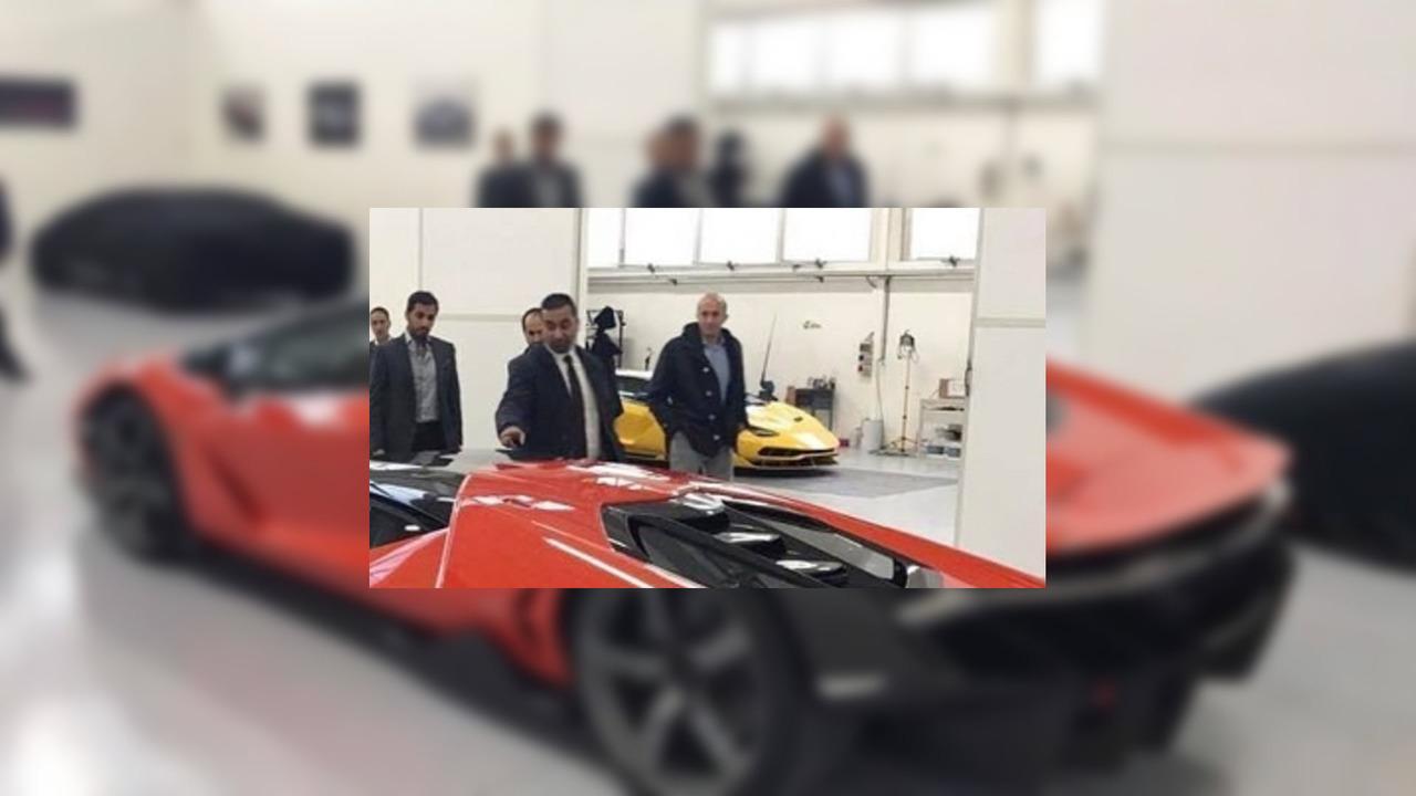 Teslim edilen ilk Lamborghini Centenario