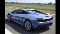 Polizei fährt Lambo