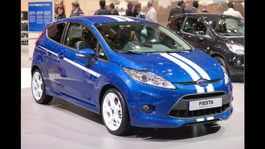 Ford Fiesta Sport S: Kleinwagen mit Sportlergenen