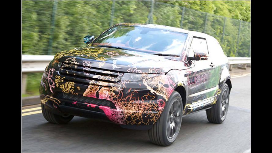 Erlkönig Land Rover LRX: Der kleine Landy nimmt Gestalt an