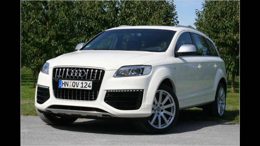 Audi Q7 V12 TDI quattro: Das stärkste Diesel-SUV der Welt
